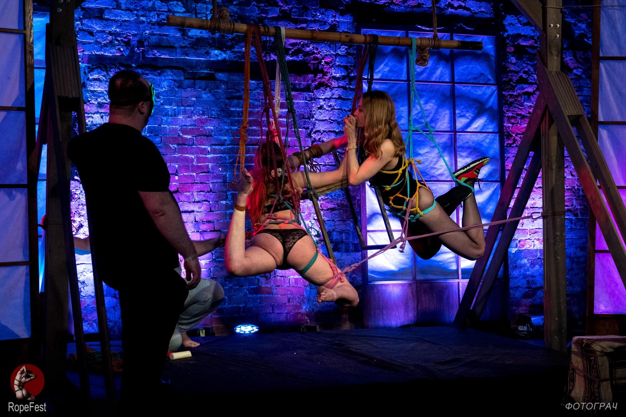 Rope Fest Peterburg 2019. Bondage: Artefackt. Foto by Fotograch