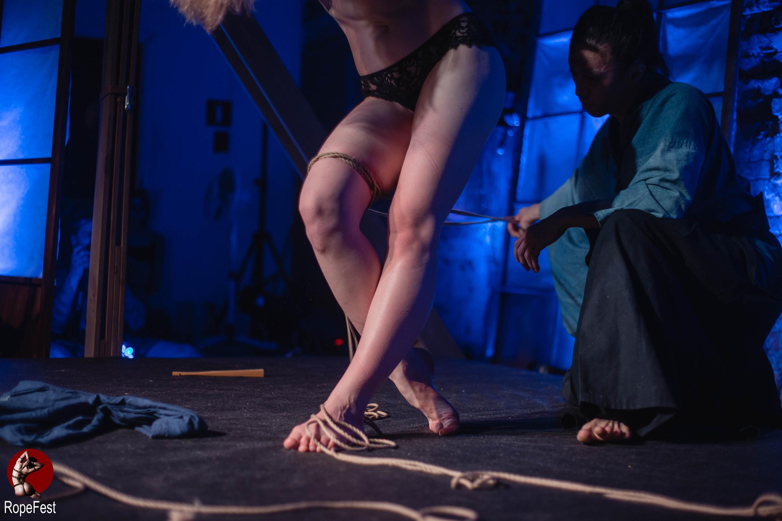 Rope Fest Peterburg 2019. Bondage: Yagami. Foto by Elizaveta Kuroki