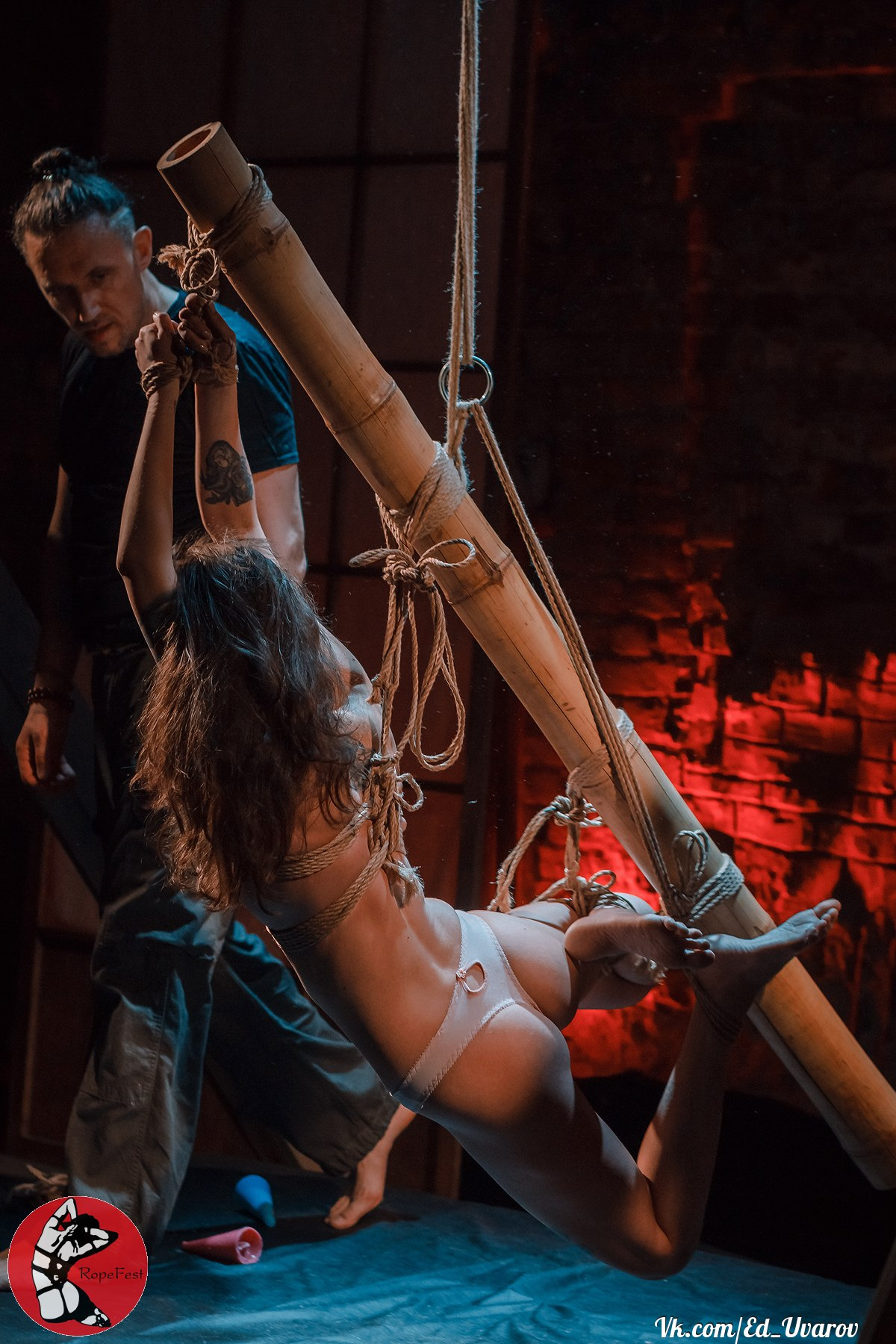 Rope Fest Peterburg 2018. Bondage: Mosafir. Photo by Ed Uvarov