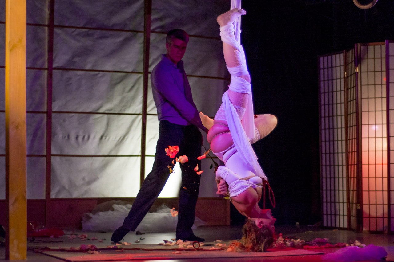 Rope Fest Peterburg 2014. Bondage: Karado. Photo by Rusbat