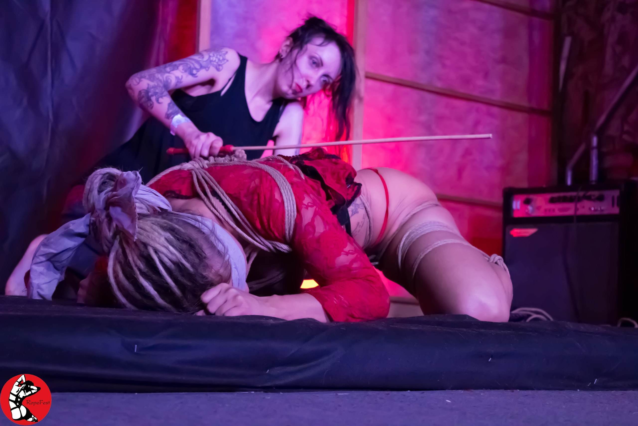 Rope Fest Peterburg 2017. Bondage: Goldie Sunshine. Photo by Dmitriy Viktorov