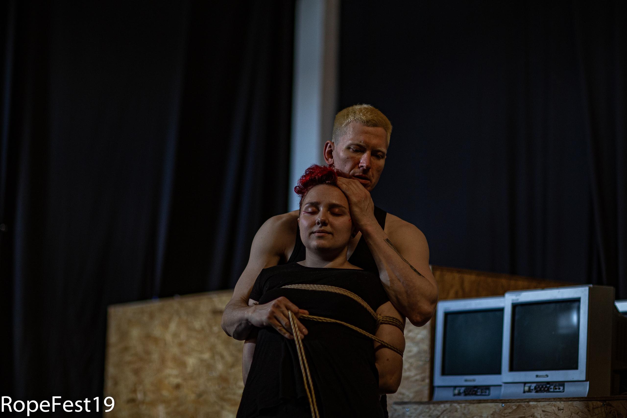 Rope Fest Peterburg 2019. Bondage: Kalahari. Foto by Faya Man