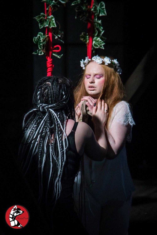 Rope Fest Peterburg 2018. Bondage: Lukretia. Photo by Artemiy Rogovoy