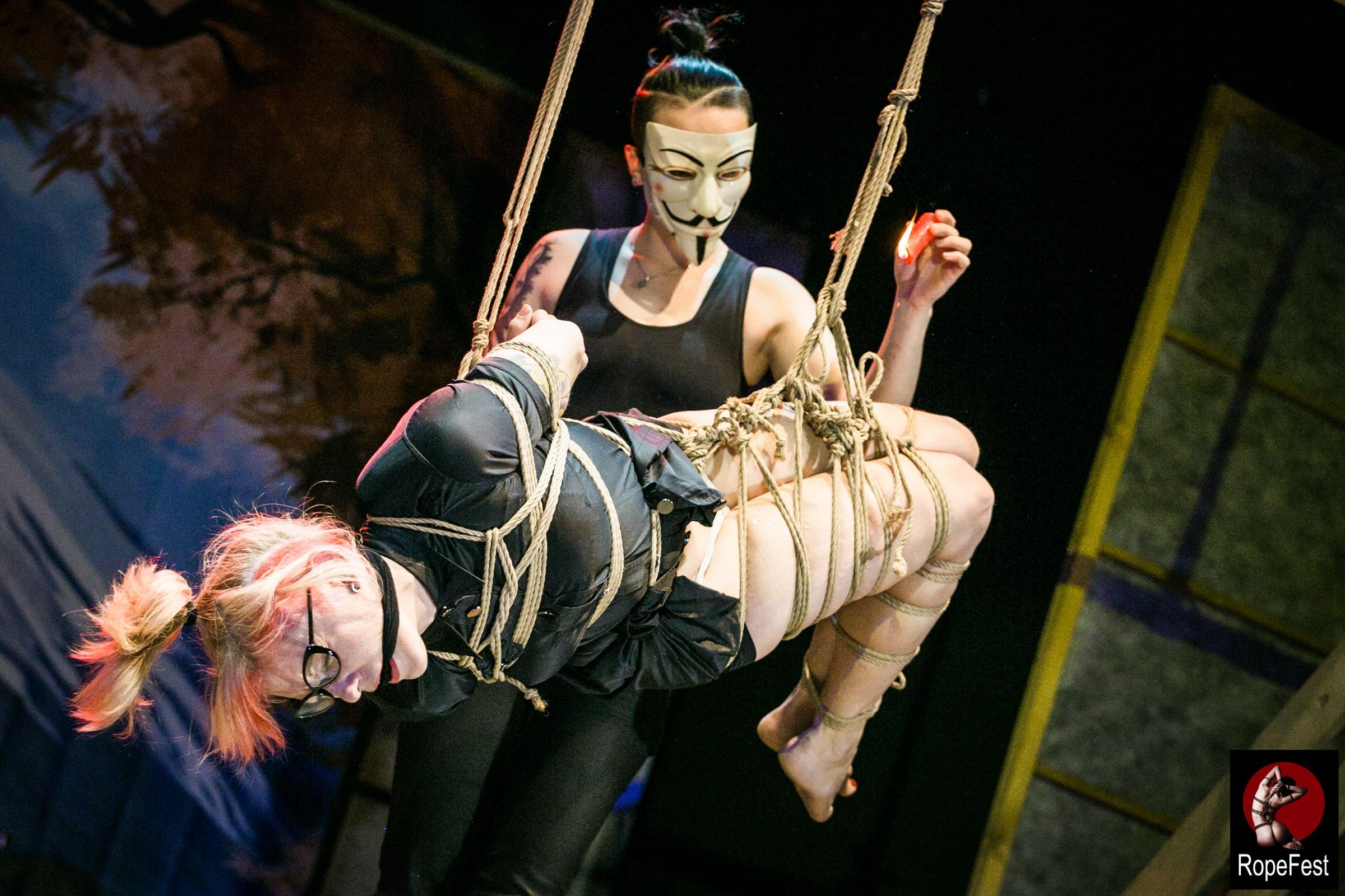Rope Fest Peterburg . Bondage: Jey Nikk. Photo by Juliya Dunaeva