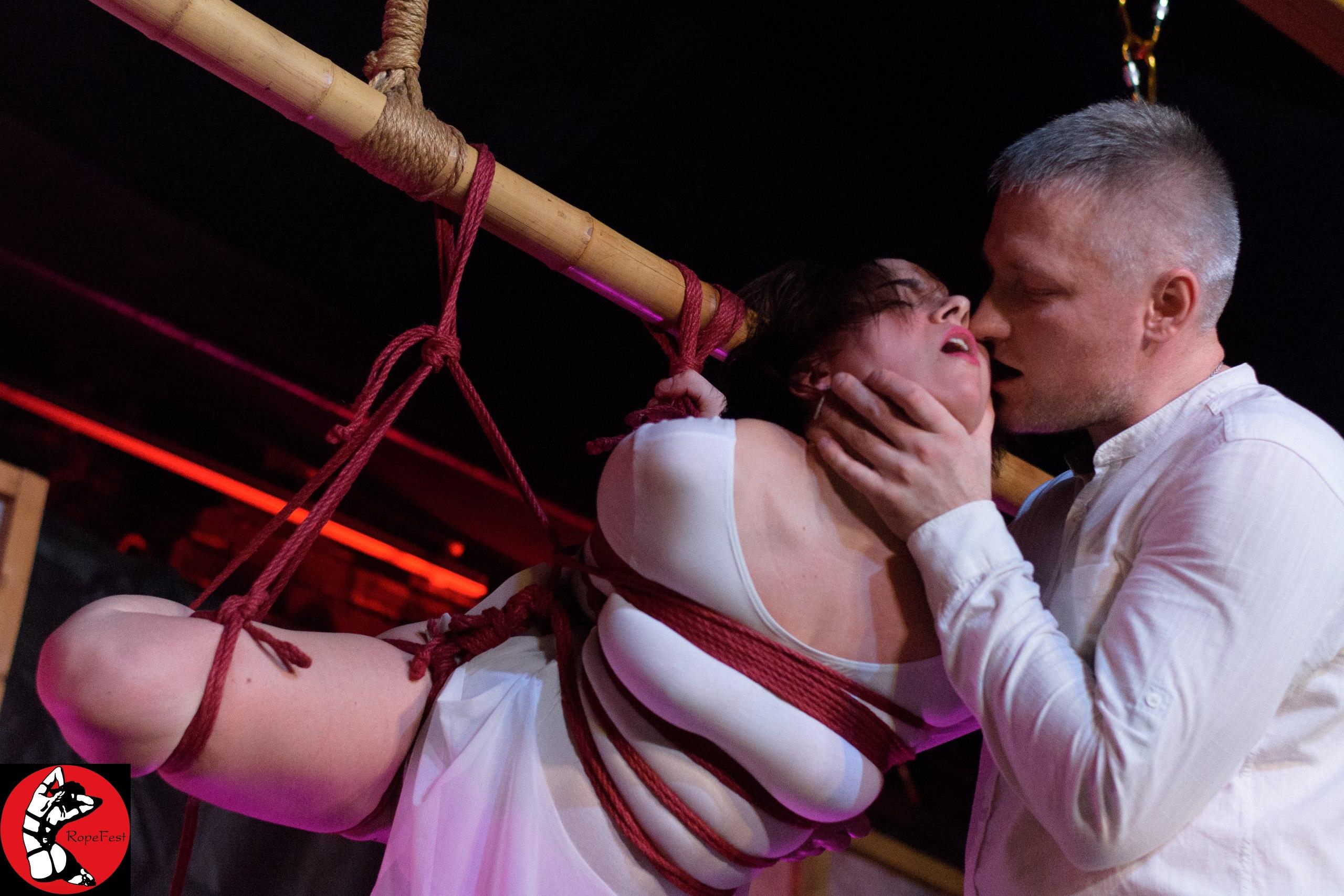 Rope Fest Peterburg . Bondage: Velad. Photo by Pavel Utkin