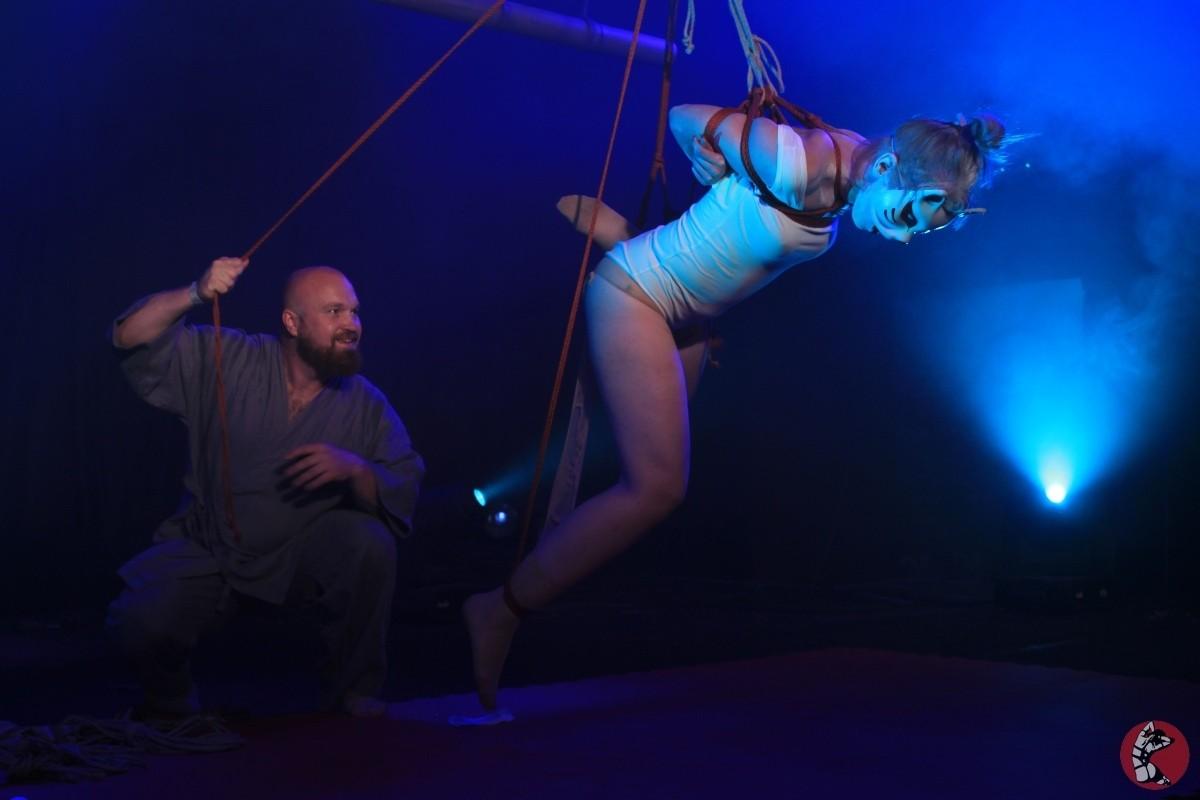 Rope Fest Baltia . Bondage: Grashin