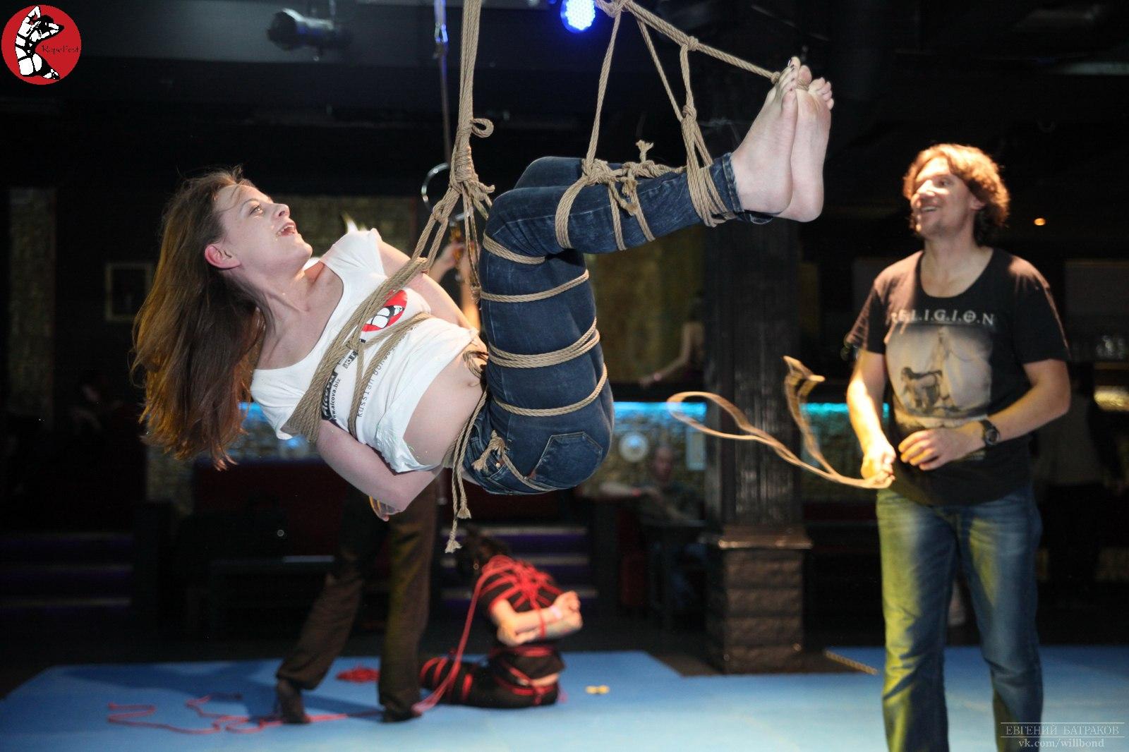 Rope Fest Peterburg . Bondage: Mosafir. Photo by Evgeniy Batrakov