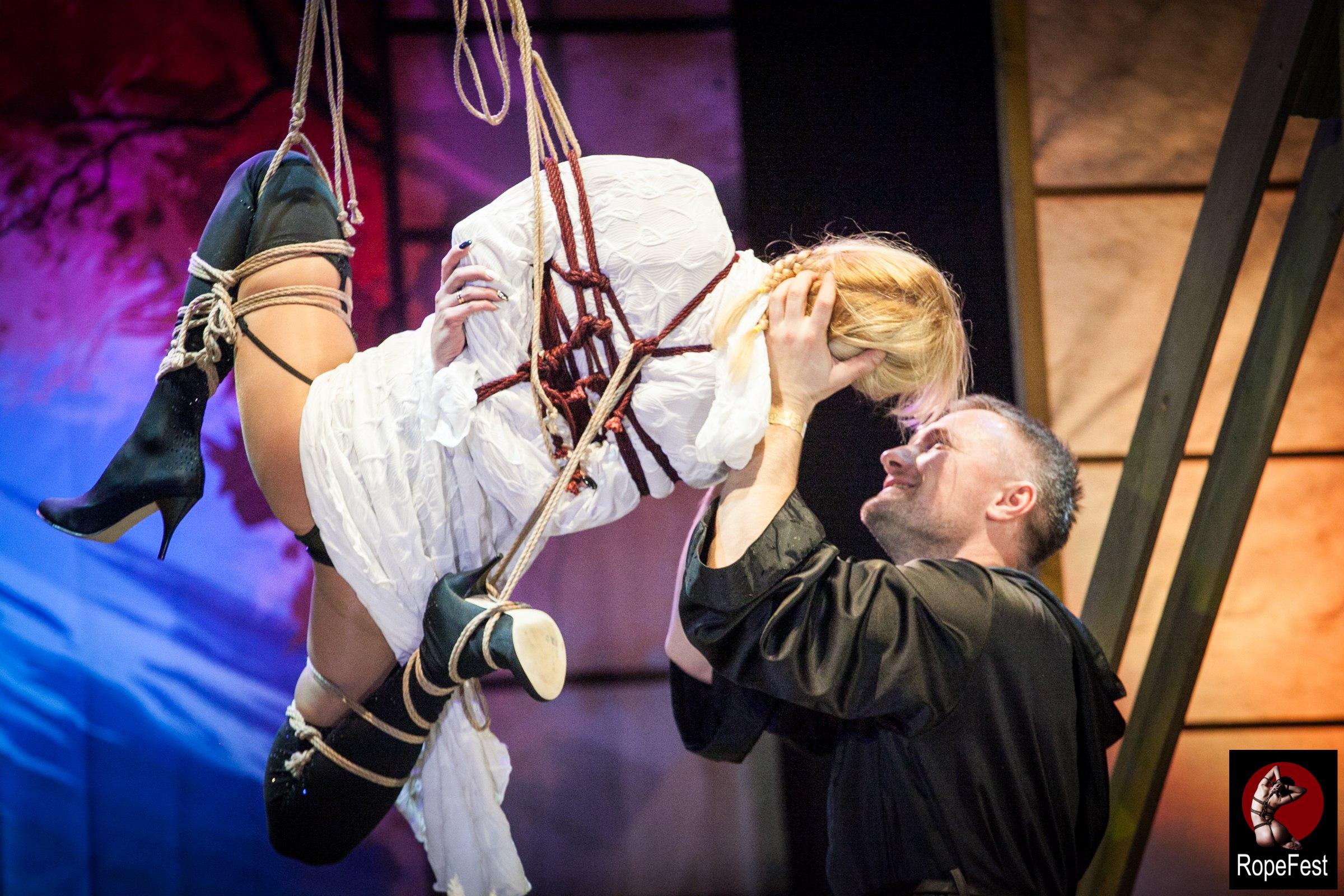 Rope Fest Peterburg . Bondage: Velad. Photo by Juliya Dunaeva