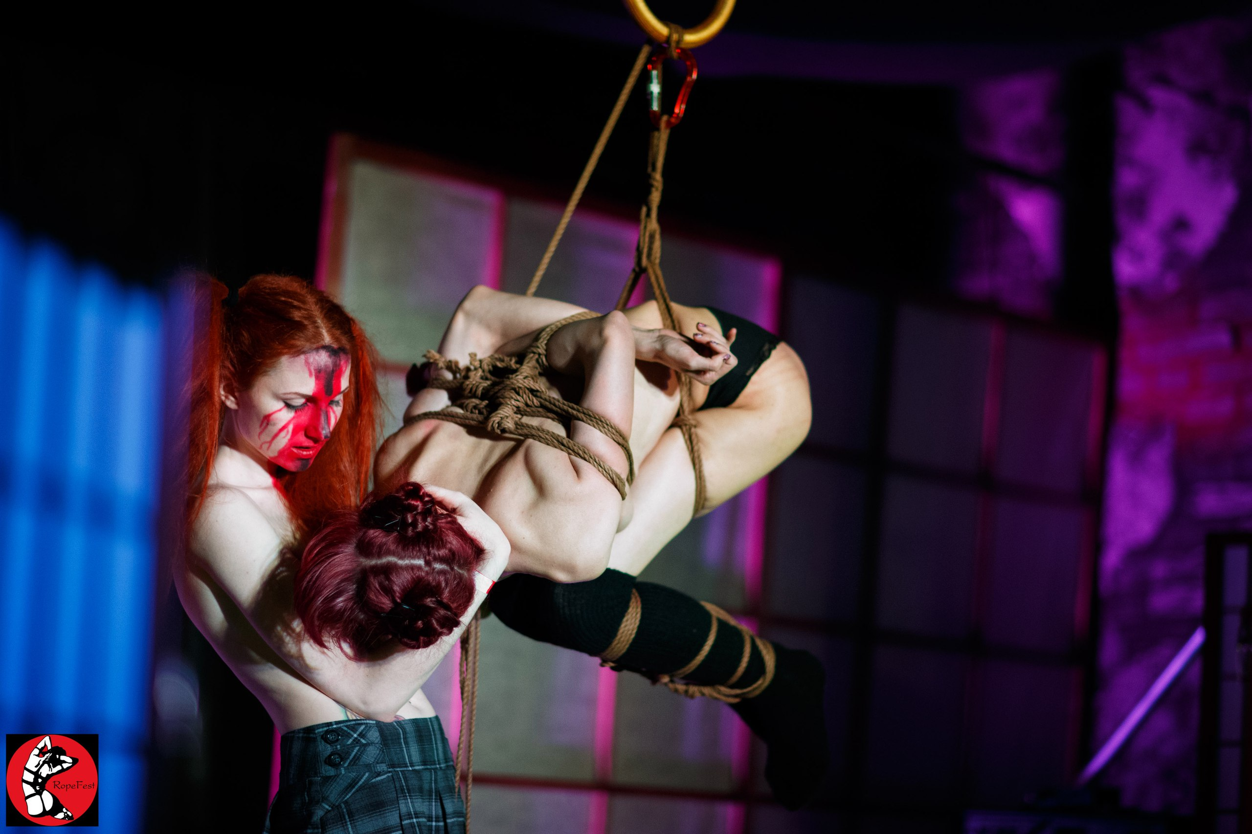 Rope Fest Peterburg . Bondage: Kiki. Photo by Alexey Efimov