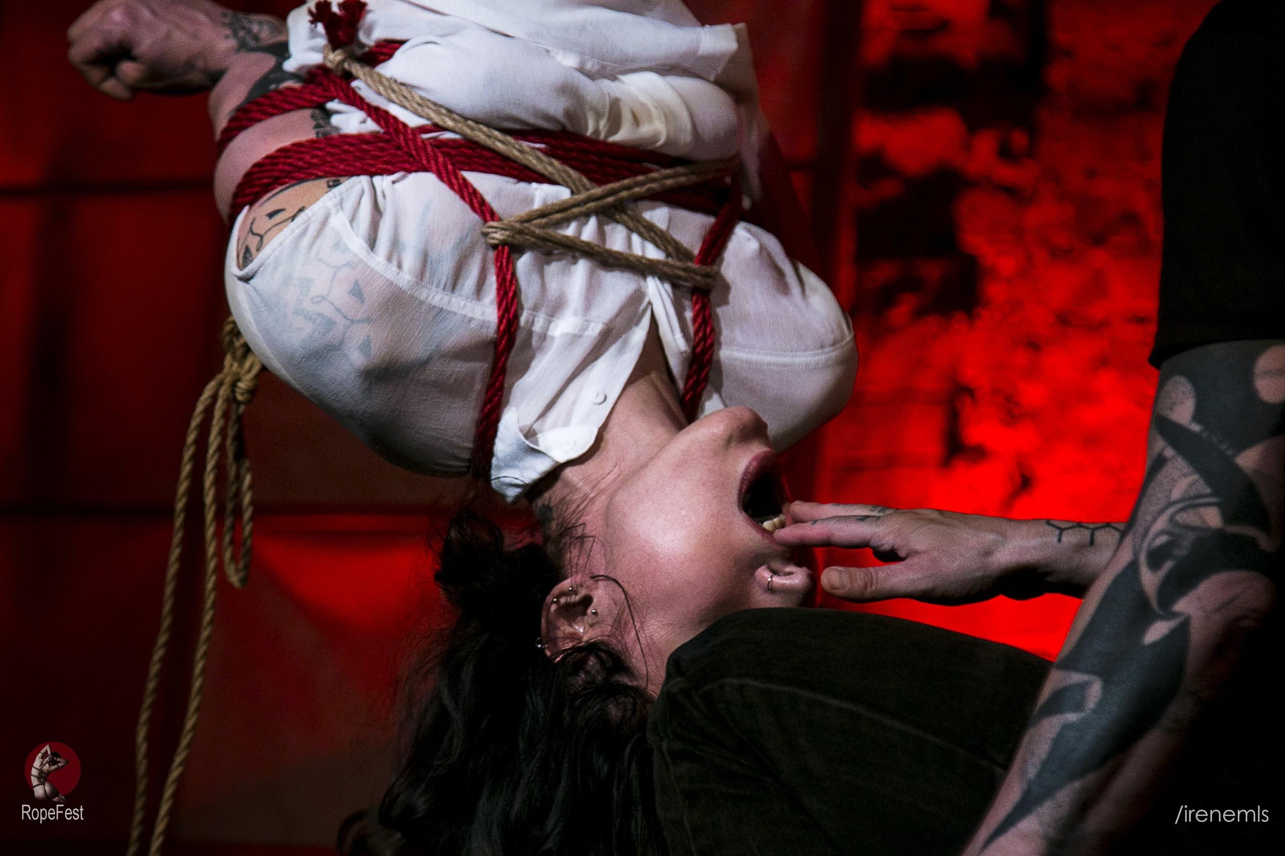 Rope Fest Peterburg . Bondage: Zlatan Sangre. Foto by Irina Malceva