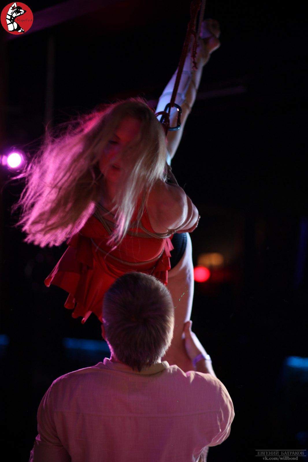 Rope Fest Peterburg . Bondage: Velad. Photo by Evgeniy Batrakov